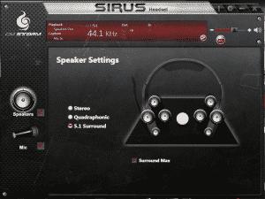 Speaker Settings