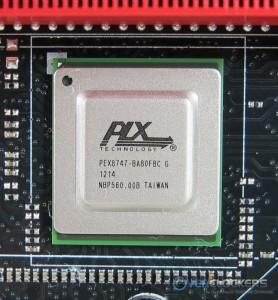PLX PEX8747 PCIe Expander