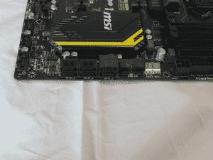 SATA ports (2x 6Gb/s, 4x 3Gb/s)