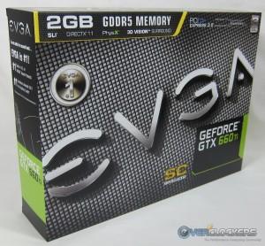 EVGA GTX 660 Ti SC Box