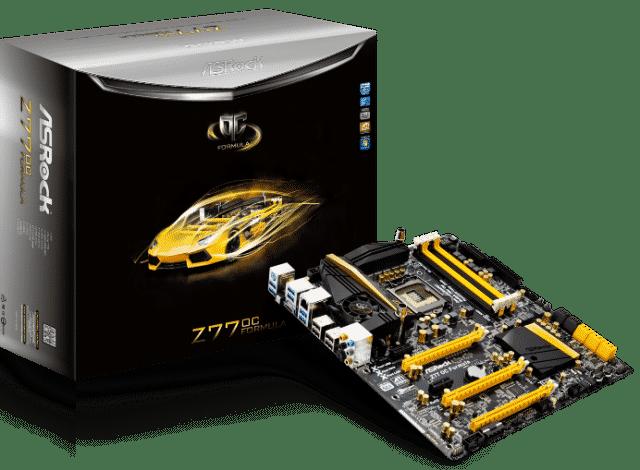 ASRock Z77 OC Formula With Box (Courtesy ASRock)