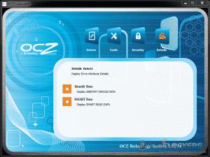 OCZ Toolbox Details