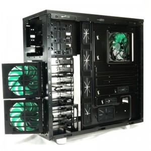 Nanoxia DS1 -- Three fans