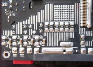 Most of the 12 V current sense resistors