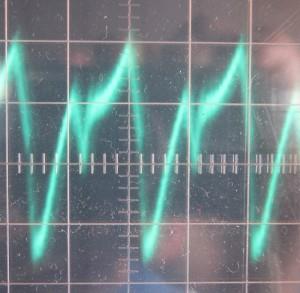 12 V ripple, full load, 50c intake air temp, ~39 mV