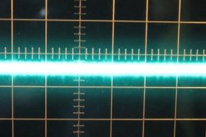 5 V ripple, zero load, cold, ~10mV
