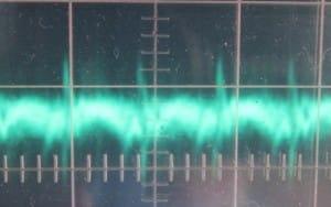 5 V ripple, full load, cold, 18 mV