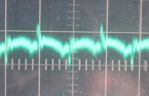 5 V ripple, full load, 50c intake air temp, ~14 mV