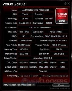 ASUS GPU Info