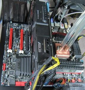 ASUS HD 7970 DirectCU II TOP Installed