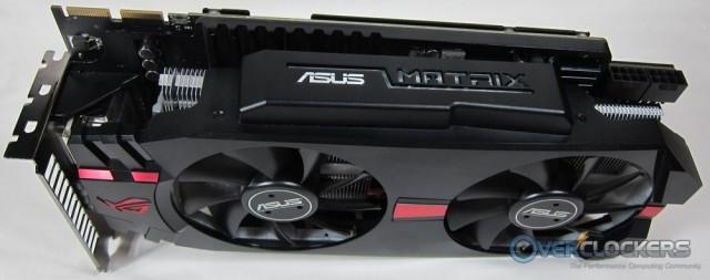 ASUS Matrix HD 7970 Side