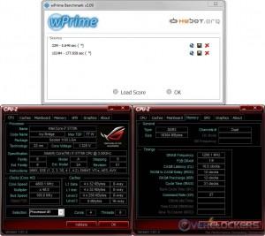 wPrime 32M/1024M @ 4.8 GHz