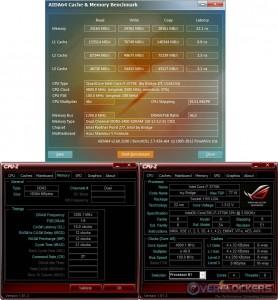 AIDA64 Cache & Memory Test @ 4.8 GHz