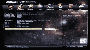 Asrock Z77 OC Formula UEFI - Main