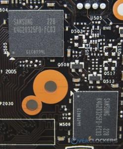 Samsung GDDR5 Memory