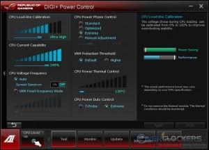 CPU DIGI+ VRM Control