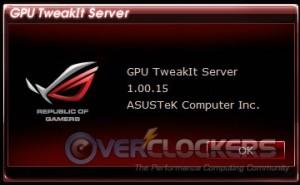 GPU TweakIt Server