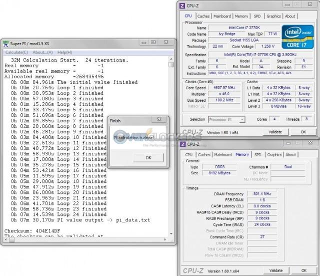 DDR3-1600 @ 9-9-9-24 1.5 vDIMM