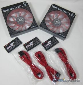 140mm Fans & PCIe Cables
