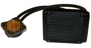 7970 Hybrid Radiator And Pump/Waterblock