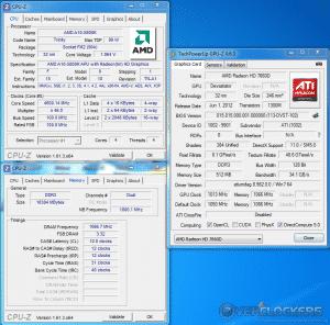 GPU-Z Screen Shot @ 1050 NHz