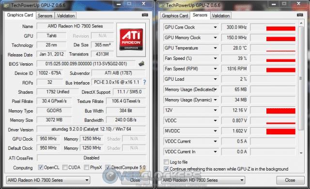 GPU-Z at Idle