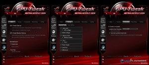 GPU Tweak Settings