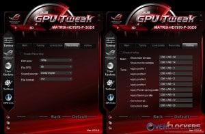 More GPU Tweak Settings