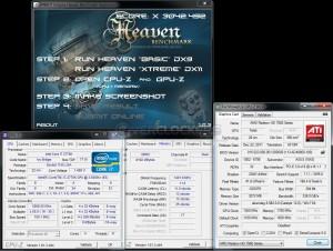 HWBot Heaven Xtreme - 3042.492