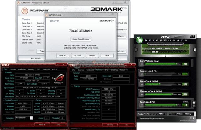 Pushing the Limits - 3DMark03