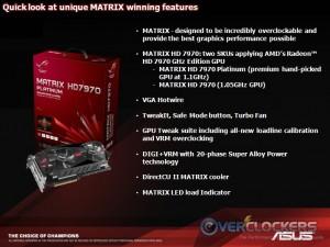 ASUS Matrix HD 7970 Features