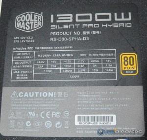 Cooler Master 1300W Silent Pro Hybrid