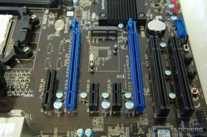 PCI-e/PCI slots