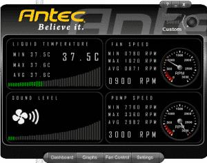 Antec Control Centre