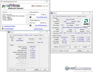 WPrime 32M/1024M @ 4.6 GHz