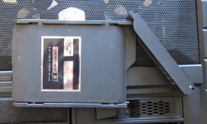 "3.5"" SSD mounted in hotswap tray"