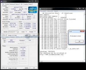 SuperPi 1M @ DDR3-2400 - Stock Timings - 1.75V