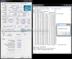 SuperPi 32M @ DDR3-2140 - 10-11-10-28-1T