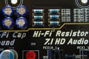 Hi-Fi Caps, Resistors, and Hi-Fi Ground Line