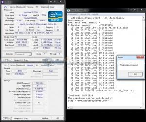 SuperPi 32M @ 5150 MHz - 6:31.745