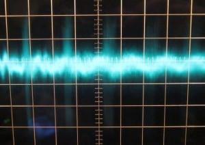 7 V  rail zero load ripple, cold. ~50mV