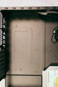 Top Down - motherboard area
