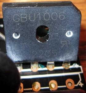 Rectifier, A GBU10600