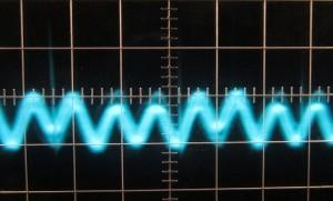 5 V Ripple w/12V Crossload, Cold, 5µs/10mV, ~26mV Ripple