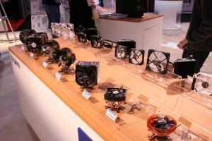 Zalman CPU Coolers on Display
