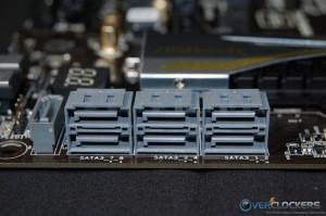 Seven SATA3 6 GBs Ports