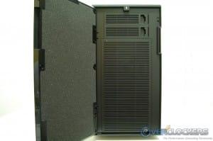 Door Opened - Applied Nose Dampening Material