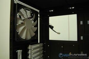 Included 140 mm Exhaust Fan