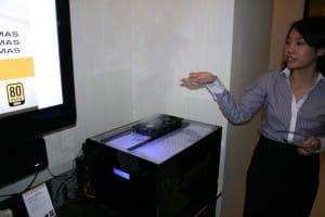 LEPA Exhibits Vortex Fan Air Channeling