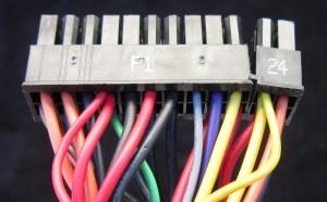 Motherboard End, Including V-Sense Wires